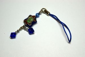 Blue Turtle Mobile Phone Charm