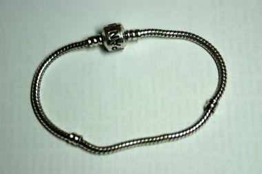 Pandora Silver Safety Bracelet 23cm