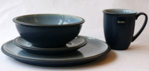 Denby Blue Jetty 16 Piece Dinner Set