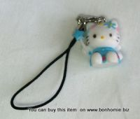 Hello Kitty Charm Angel Blue
