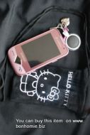 Hello Kitty Pouch Black