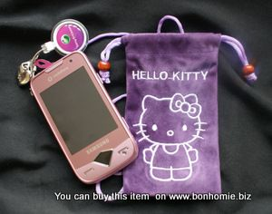 Hello Kitty Pouch Purple