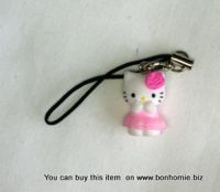 Hello Kitty Charm Flower Pink