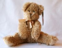 Mary Meyer Beige Shaggy Bear