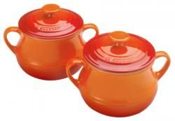 Le Creuset Volcanic Bean Pot Small (Pack of 2)