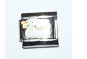 Italian Charm Enamel Duck