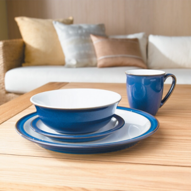 Denby Imperial Blue 16 Piece Dinner Set
