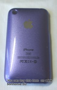 iPhone 3GS Plain Back Cover Lilac