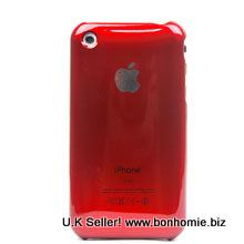 iPhone 3GS Plain Back Cover Red