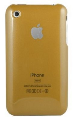 iPhone 3GS Plain Back Cover Gold