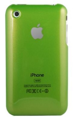 iPhone 3GS Plain Back Cover Green