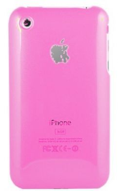 iPhone 3GS Plain Back Cover Light Pink
