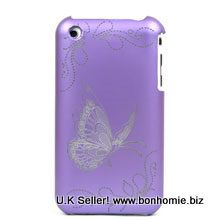 iPhone Butterfly Purple